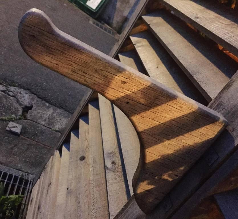 木製棚支えおっ立ち棒