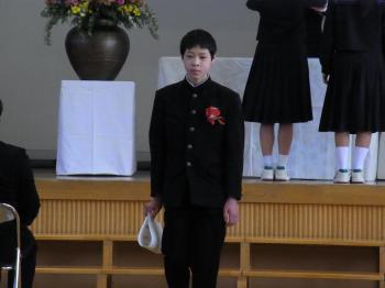 2017.3.中学卒業式