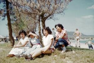 旧石川市若き女性