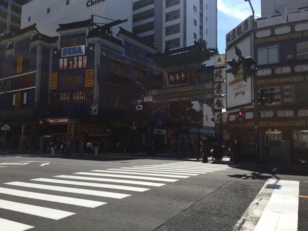003横浜中華街朝陽門入り口 2