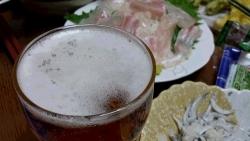 ビールは1杯
