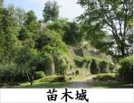 続日本100名城/142苗木城