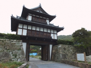金石城/04大手櫓門