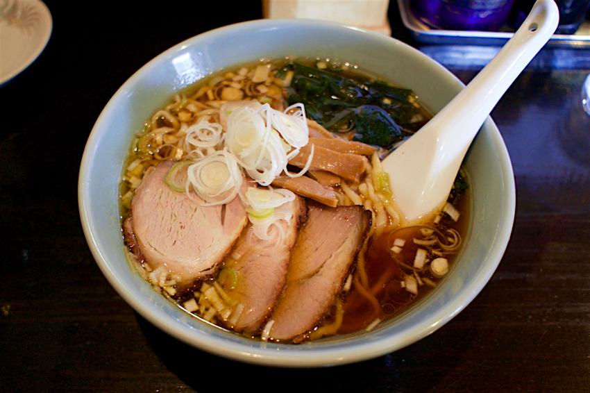 柳麺 まる重@壬生町壬生甲 4 鯵煮干しと生揚げ醤油の手打ちそば1