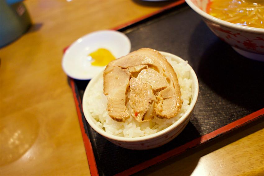 らーめん平成@上三川町しらさぎ Andy特製チャーシュー丼