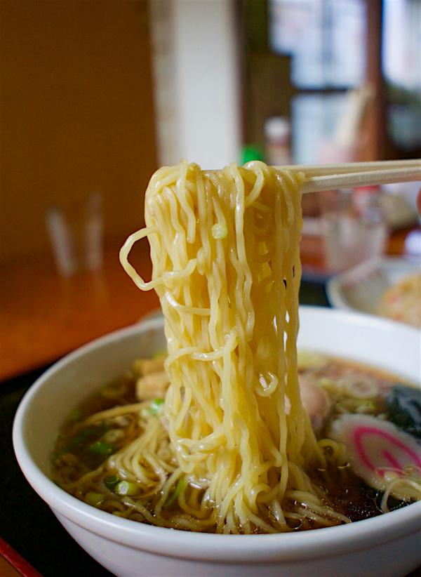 富士食堂@那須烏山市金井 麺