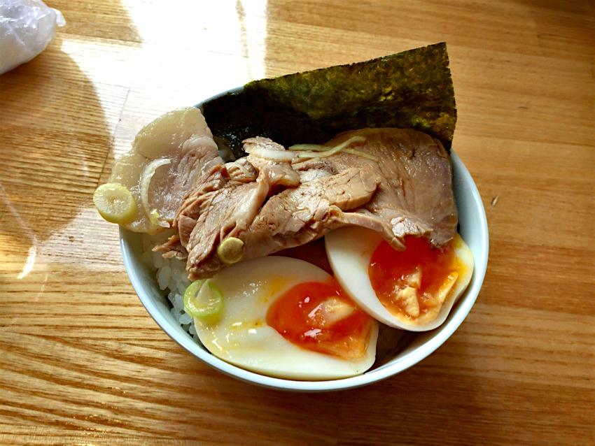 琥侍(KOSAMURAI)@日光市吉沢 Andy特製チャー玉丼