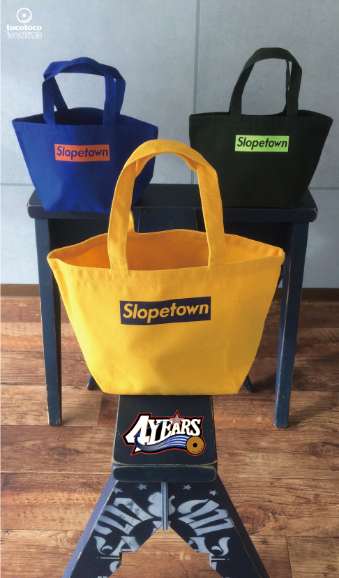 スロープタウンキャンバスバッグ三種 | tocotocoドーナツ