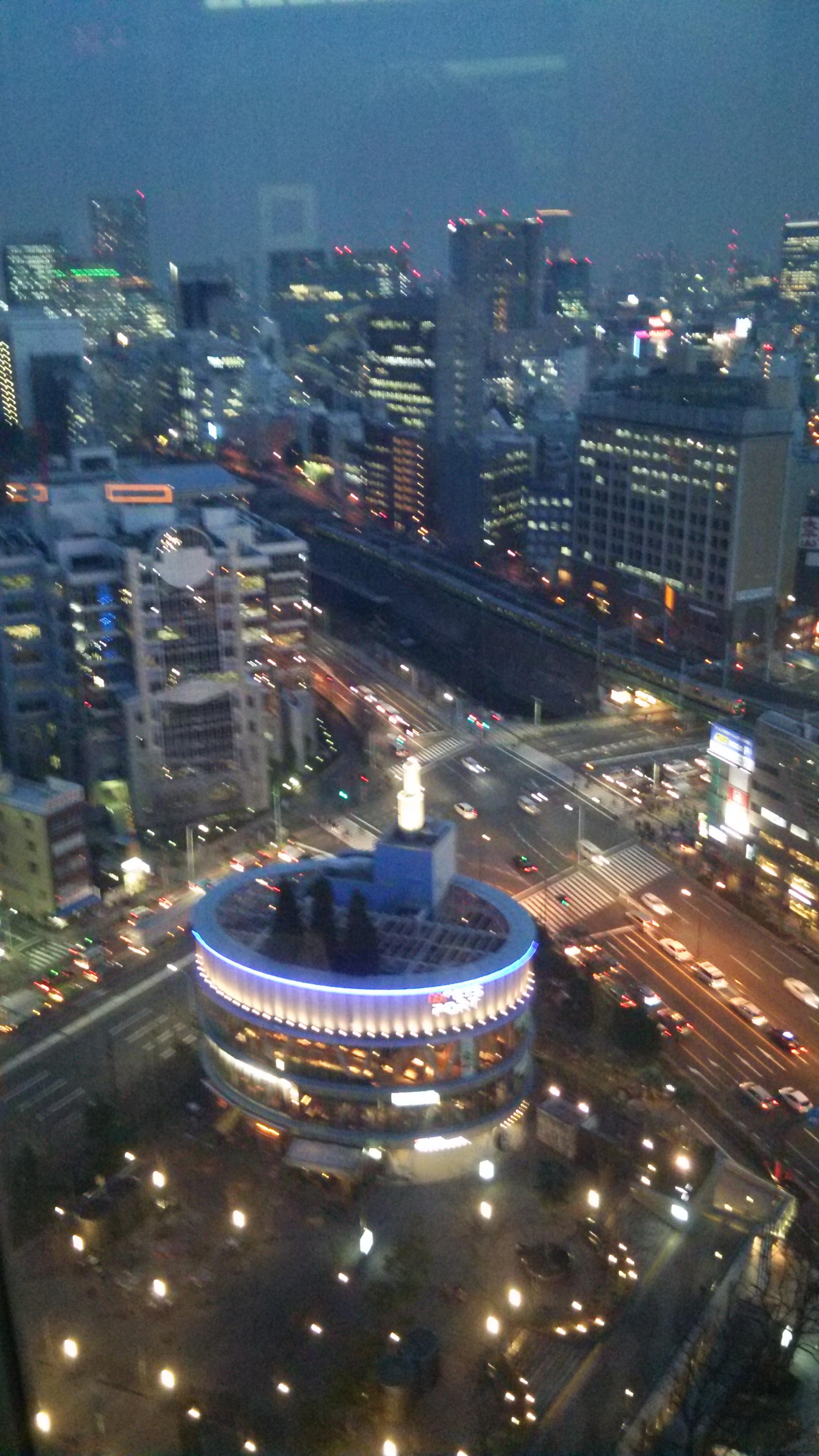 東京ドームホテル景色