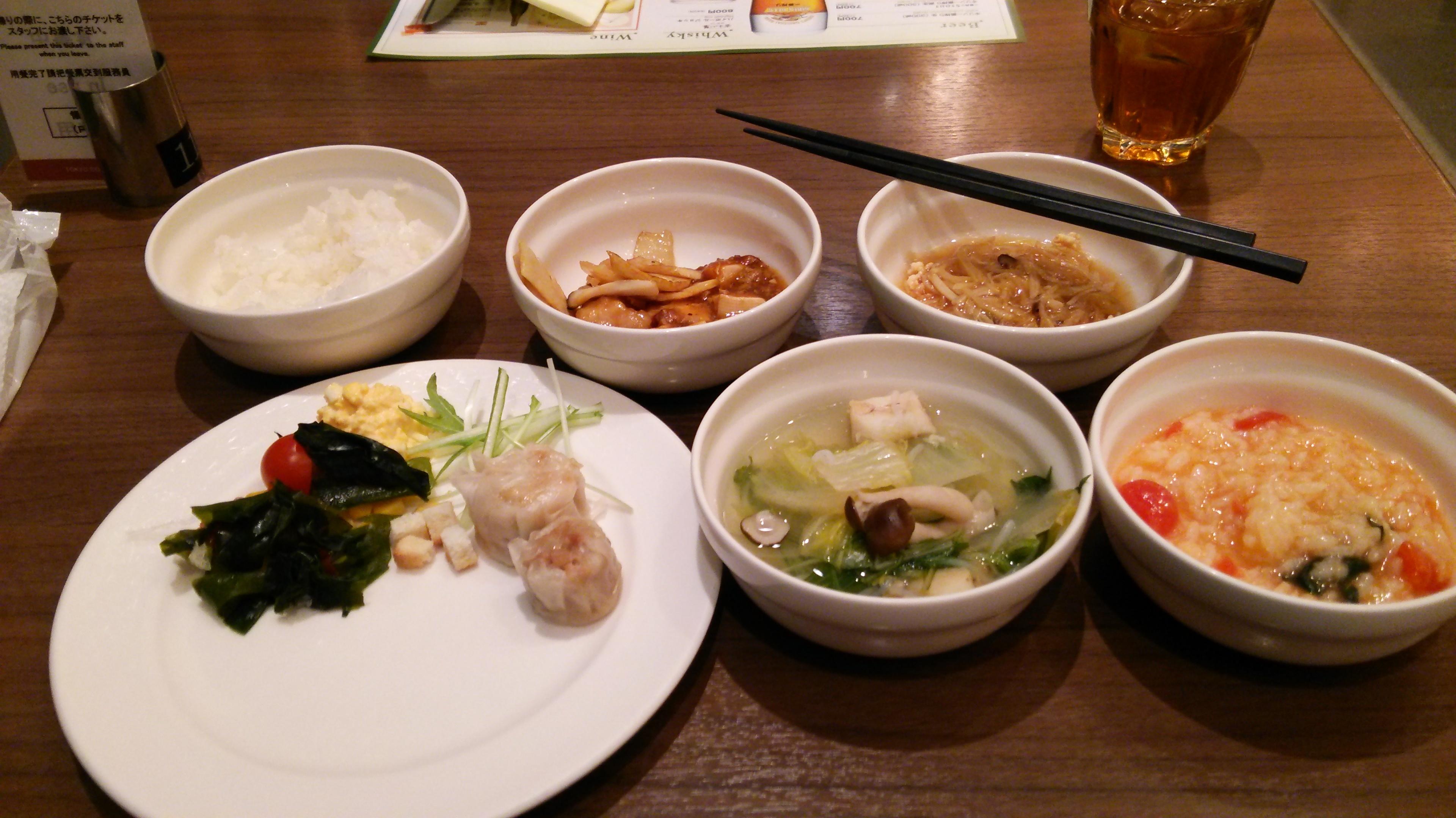 東京ドームホテルディナー