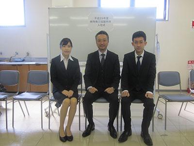 H29年入社式17-04-03①