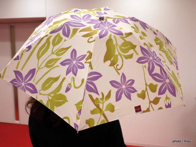 nugoo「折畳晴雨兼用日傘」と母の日アレンジメントのセット |2017 母の日 日比谷花壇