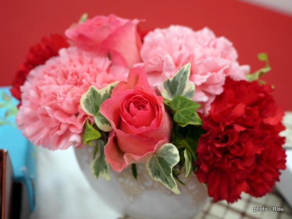 2017 母の日 プレゼント 日比谷花壇