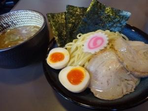 東京都中野区新井の製麺所直営ラーメン専門店 麺彩房中野本店の特製つけそば