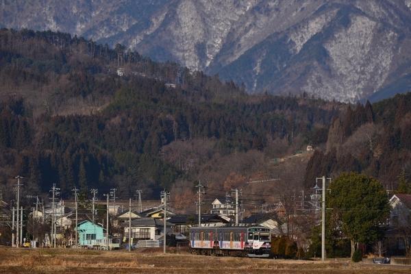 2017年2月17日 上田電鉄別所線 舞田~八木沢 1000系1003編成