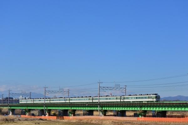 2017年2月25日 JR東日本中央本線 日野~立川 189系N102編成