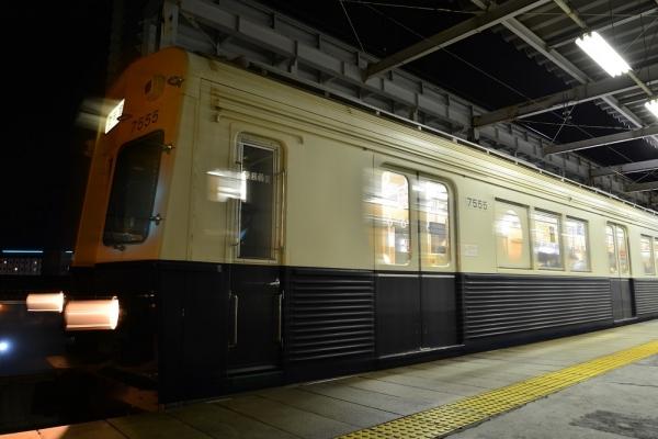 2017年3月18日 上田電鉄別所線 上田7200系7255編成