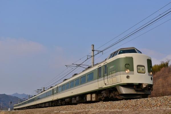 2017年3月19日 JR東日本篠ノ井線 坂北~聖高原 189系N102編成