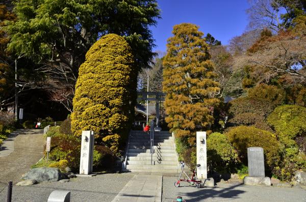 貫井神社入口