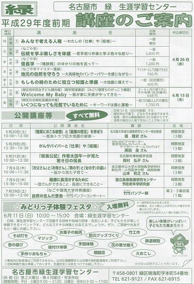名古屋市緑生涯学習センター人権講座1