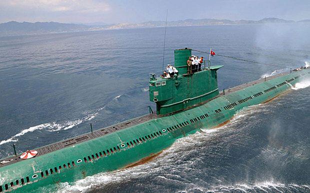 北朝鮮潜水艦