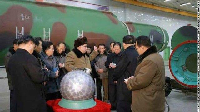 北朝鮮核弾頭