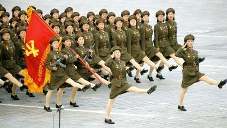 北鮮 軍事パレード