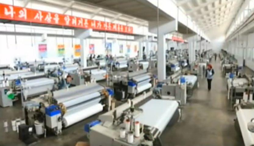北鮮 軽工業工場
