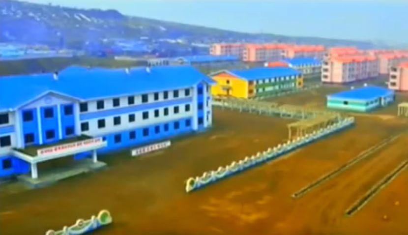 北鮮 自然災害復旧
