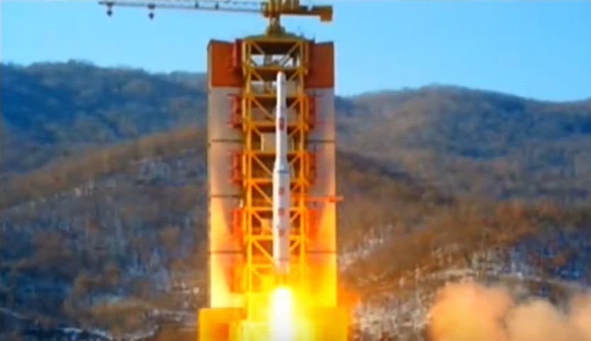 北鮮 衛星発射