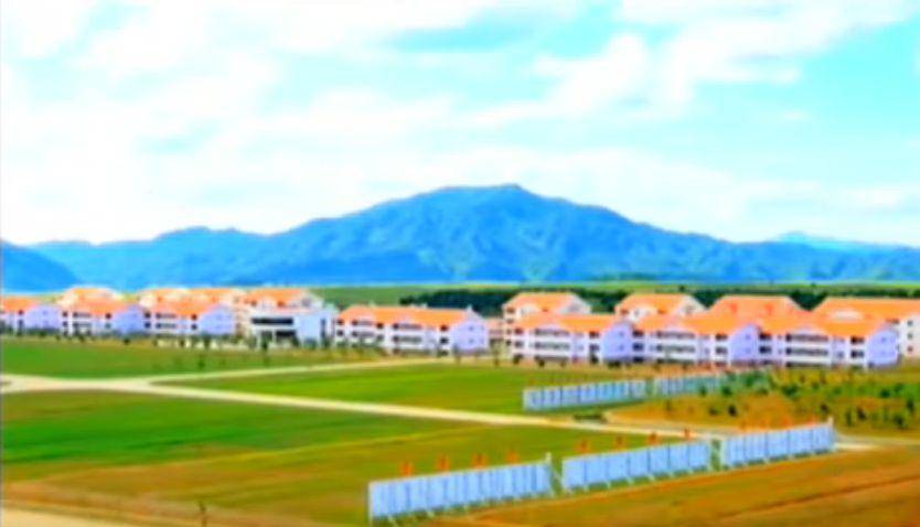 北鮮 畜産団地