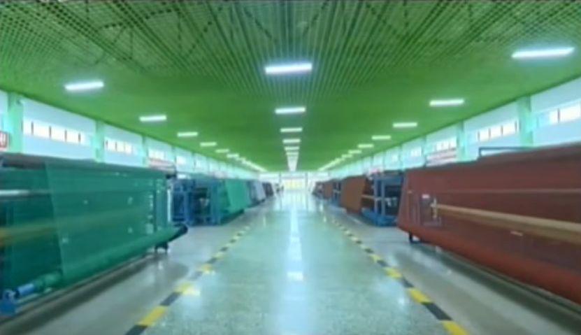 北鮮 漁具生産基地