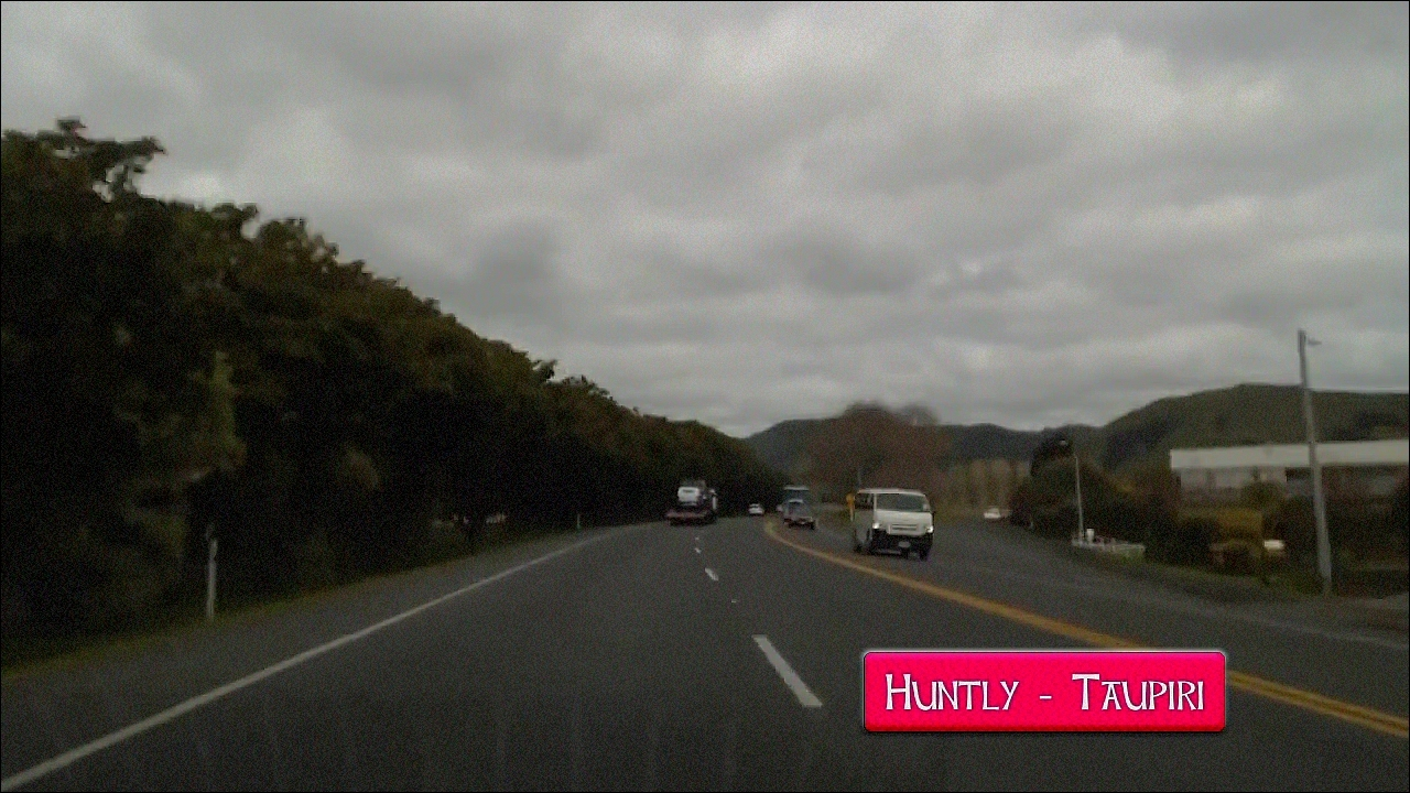 Overtaking lane Huntly