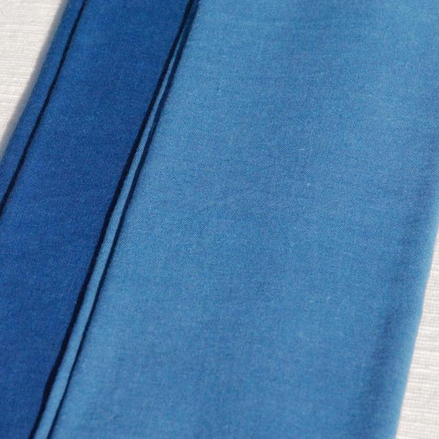 藍染めてぬぐい(つばめのうた)