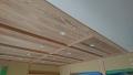 雨楽な家 K様 内部 Jパネルと和紙天井