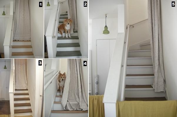 階段にマステ8