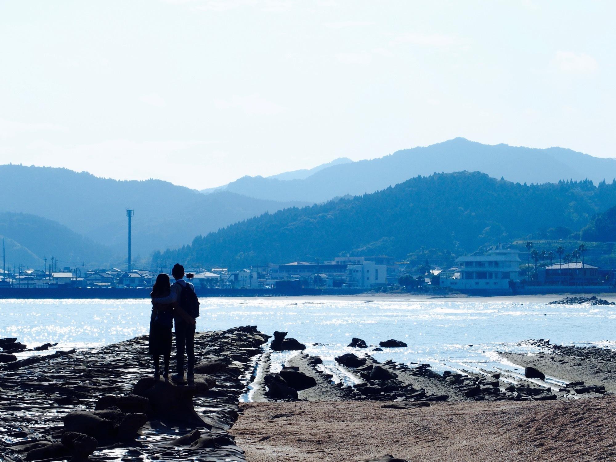青島のカップル