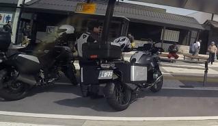 岡崎SA駐車場