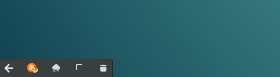 Ubuntu 16.04 GNOME インジケーター アイコン