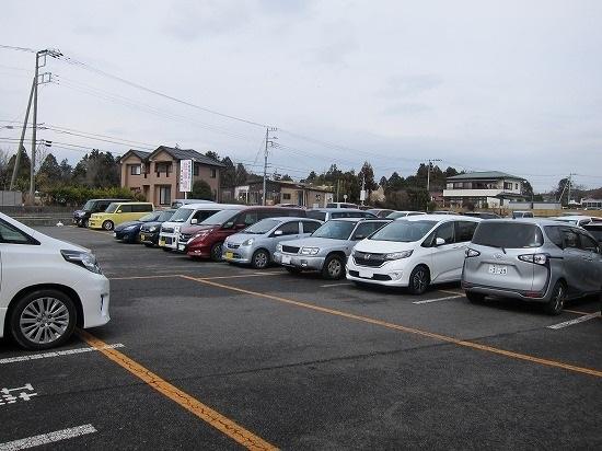 時の栖駐車場