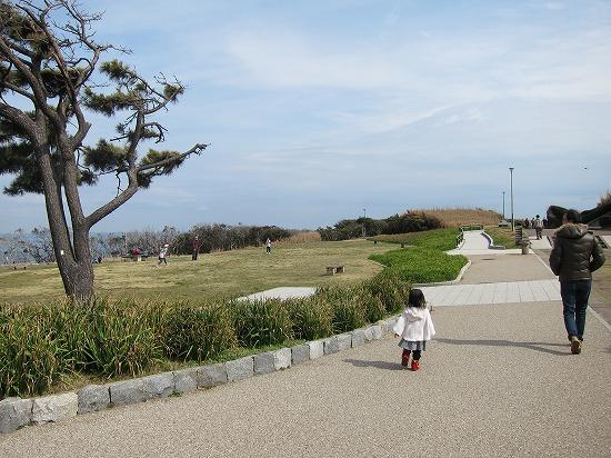 城ヶ島公園通路