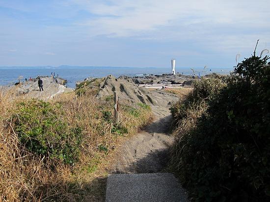 城ヶ島階段後