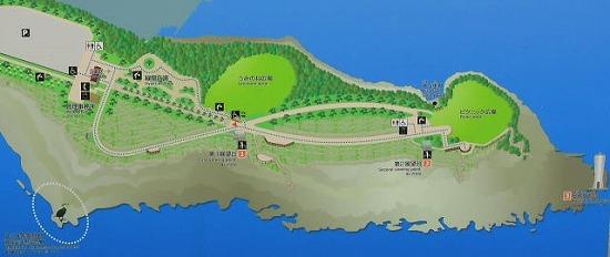 城ヶ島公園地図