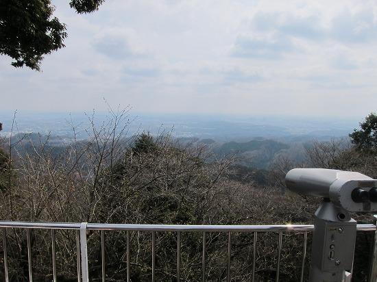 高尾山ケーブル上駅より眺め
