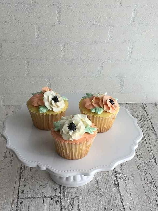 フラワーカップケーキ2