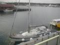 三崎うらり桟橋の海坂