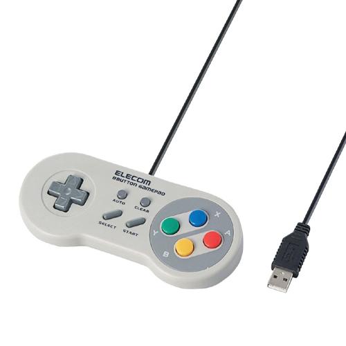 エレコム ゲームパッド 8ボタン 1