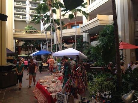 ハイアットリージェンシーのファーマーズマーケット2