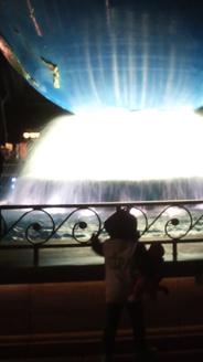 噴水好き!