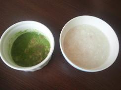 初小松菜と鯛